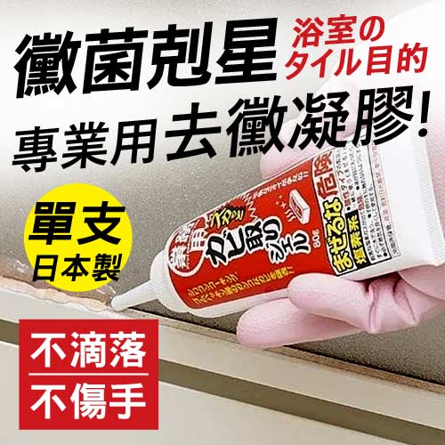 【AIMEDIA艾美迪雅】浴室專用強力去黴凝膠 80g-日本製