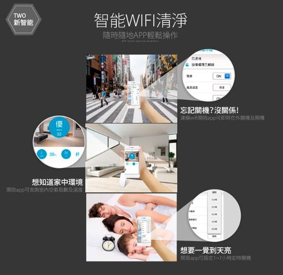 【Lasko 白朗峰】 3G+WiFi 智能APP空氣清淨機+送濾網!!