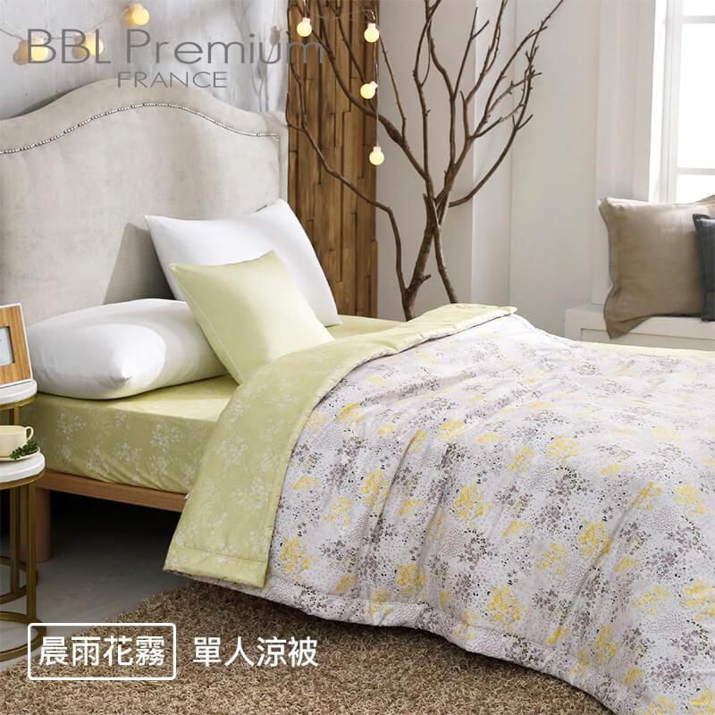 【BBL Premium】台灣製100%精梳棉印花兩用被床包組(4款花色)
