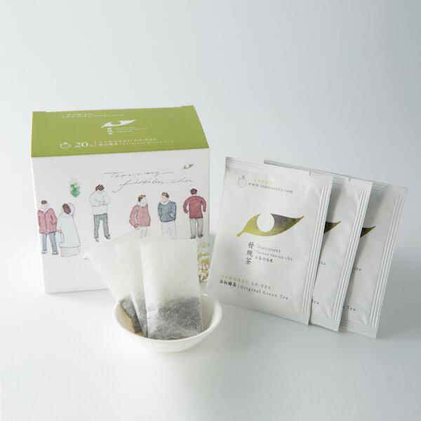 【發現茶】30秒冷泡茶品初綠茶20入盒裝