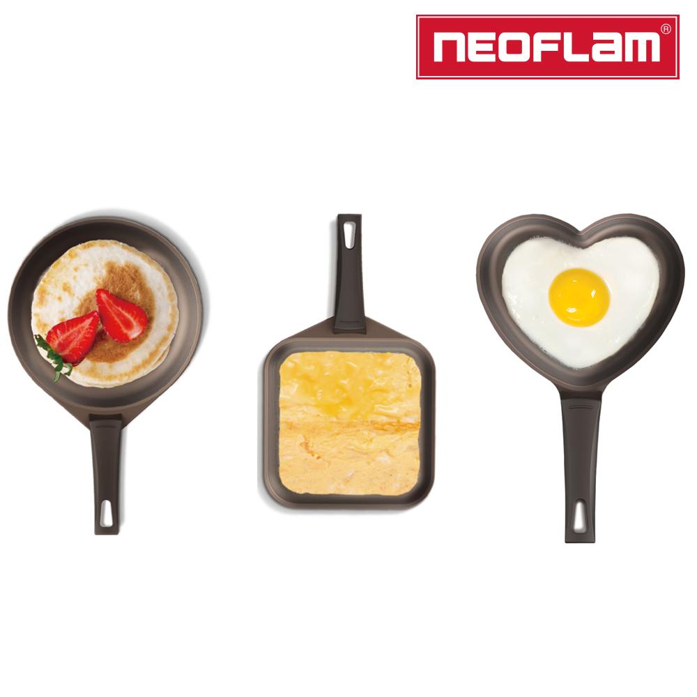 【NEOFLAM】可愛煎蛋小鍋三件組