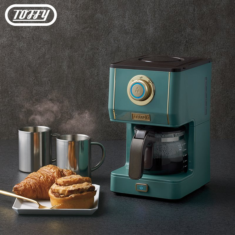 【Toffy】日本Drip Coffee Maker咖啡機(板岩綠)
