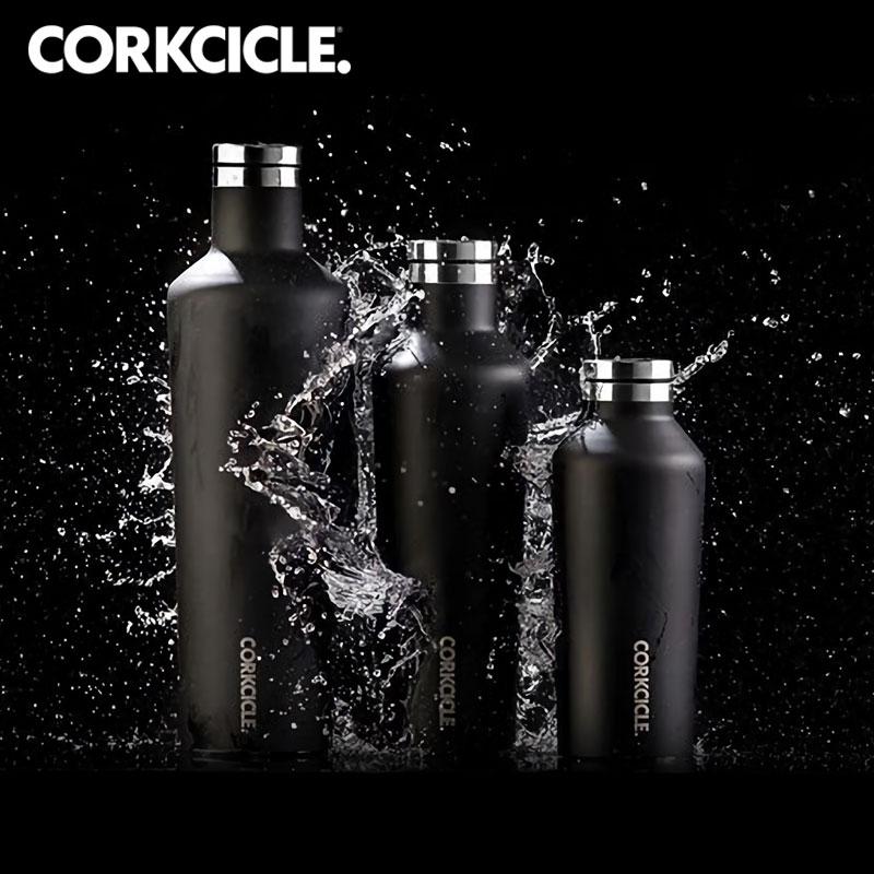( 買一送一 )【美國CORKCICLE】酷仕客 Waterman 戶外系列三層不鏽鋼易口保溫瓶 740 ml
