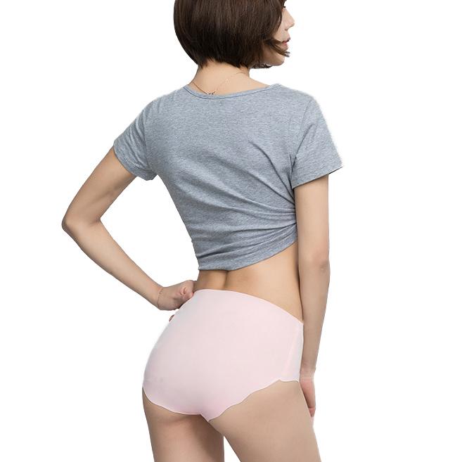 【Brabrala】日系裸感3D無痕褲五件組