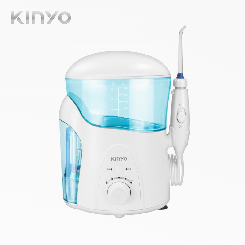 【KINYO】家用型抗菌健康沖牙機IR-2005