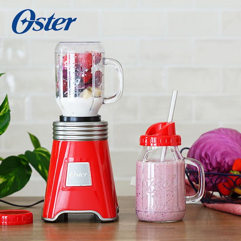 【美國OSTER】Ball Mason Jar隨鮮瓶果汁機 獨家加贈 : BALL隨鮮瓶*1(不挑色)