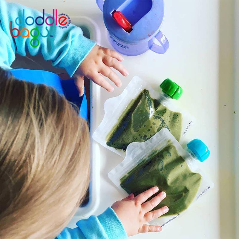 【英國doddlebags】彩虹荳荳袋萬用袋(4入/10入)