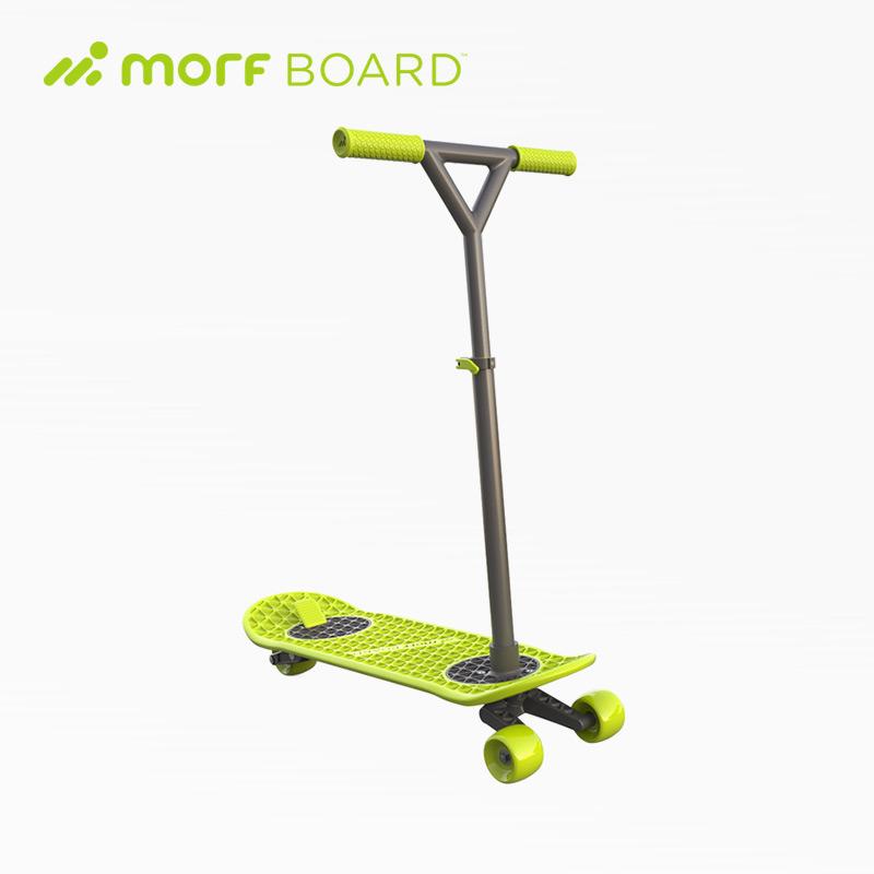【 MorfBoard 】 多功能2 in 1 滑板 / 滑板車+彈跳球