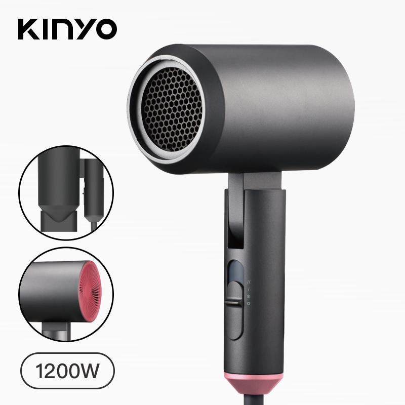 (預購,預計2020/3/16開始出貨)【KINYO】陶瓷負離子吹風機(兩色可挑)