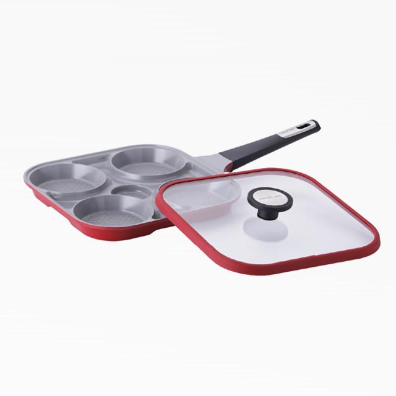 【韓國NEOFLAM】 Steam Plus Pan烹飪神器&玻璃蓋(加贈耐熱玻璃隨身壺 550ml一入)