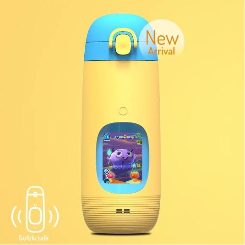 【Gululu】兒童智能水壺Talk版,獨家加送背袋(隨機出貨)