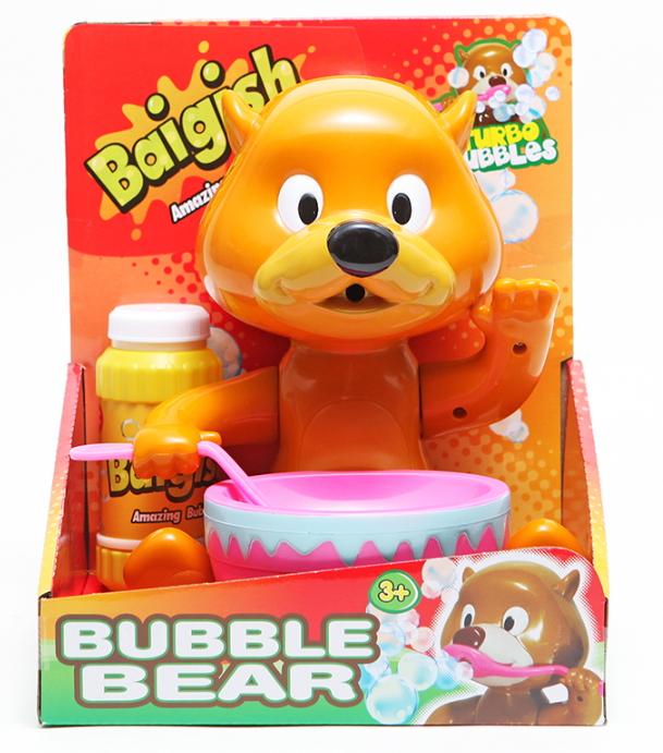 【Baigish】英國貝戈士無毒泡泡機玩具-小熊款