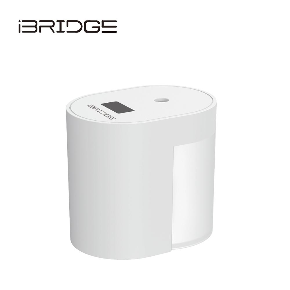 (組合)【IBRIDGE】全自動感應酒精消毒機+【iGRASS】攜帶式卡片型噴霧瓶