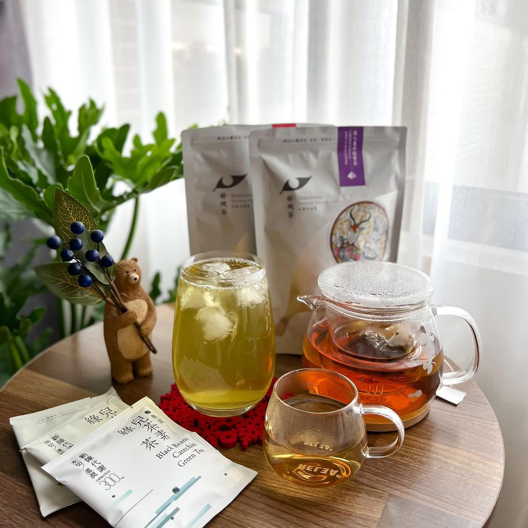 萬萬。沒想到 x 發現茶系列❤在家冷泡喝好茶