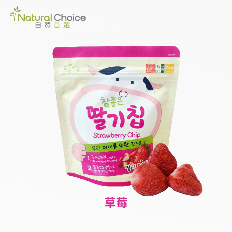 【Natural Choice】韓國自然首選水果脆片精選全組合6入組(6種口味)